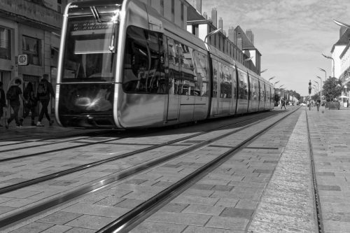 Tramway rue Nationale