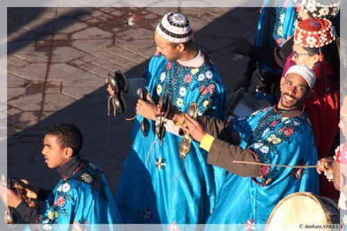 Joueurs de qraqeb musique gnaoua