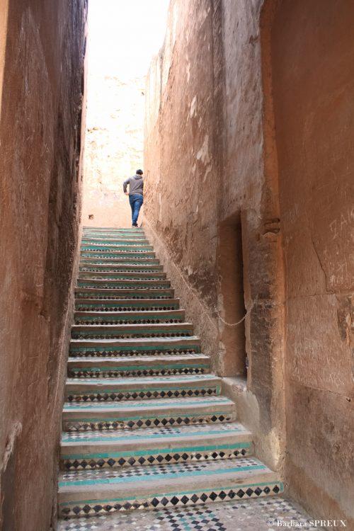 Palais Badia, escaliers