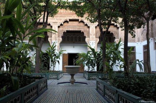 Palais Bahia, petite cour