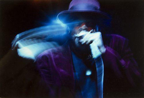 """En musique couleur 1° Mr  Pires Dias  """" Armonica blues """""""