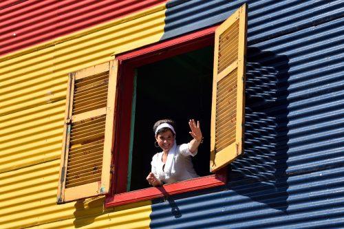 """Jea-Paul Ligeron """"Fenêtre colorée"""""""