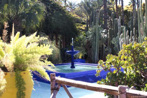 Majorelle, fontaine