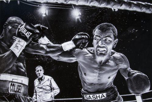 """Libre Noir et Blanc 1° Mr Eric T'Kindt  """" Boxing 05 """""""