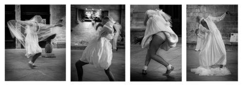 "Hervé Hellel ""Danseuse de bûto"""