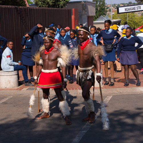 "Isabelle Thibault ""Danse à Soweto"""
