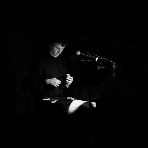 """Stéphane Garcia """"Le narrateur"""""""